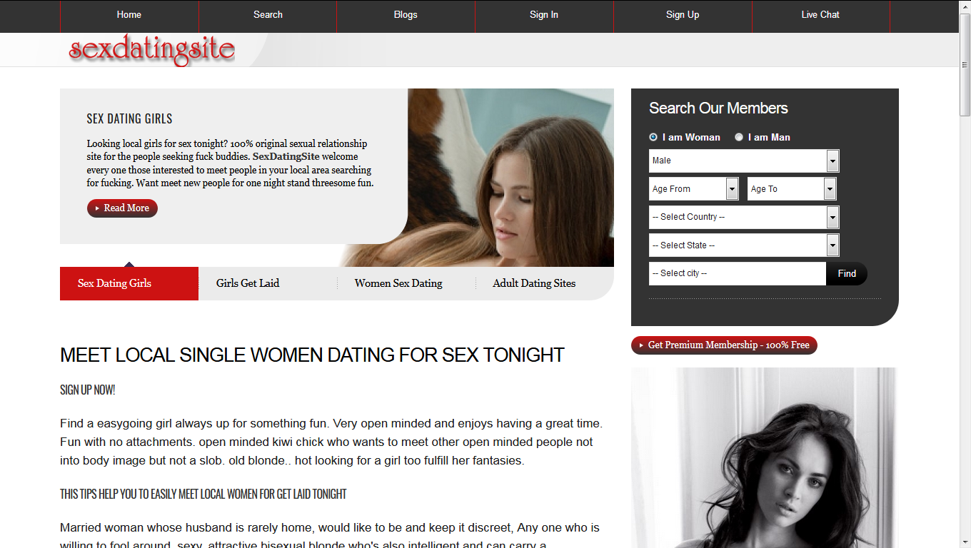 istachatta adult sex dating Hornymatchescom was created because we were looking for sex dates on the internet, and a lot of people were looking for the same thing - so we decided to create this site it had a lot more success than we anticipated and it grew really quickly to millions of members.
